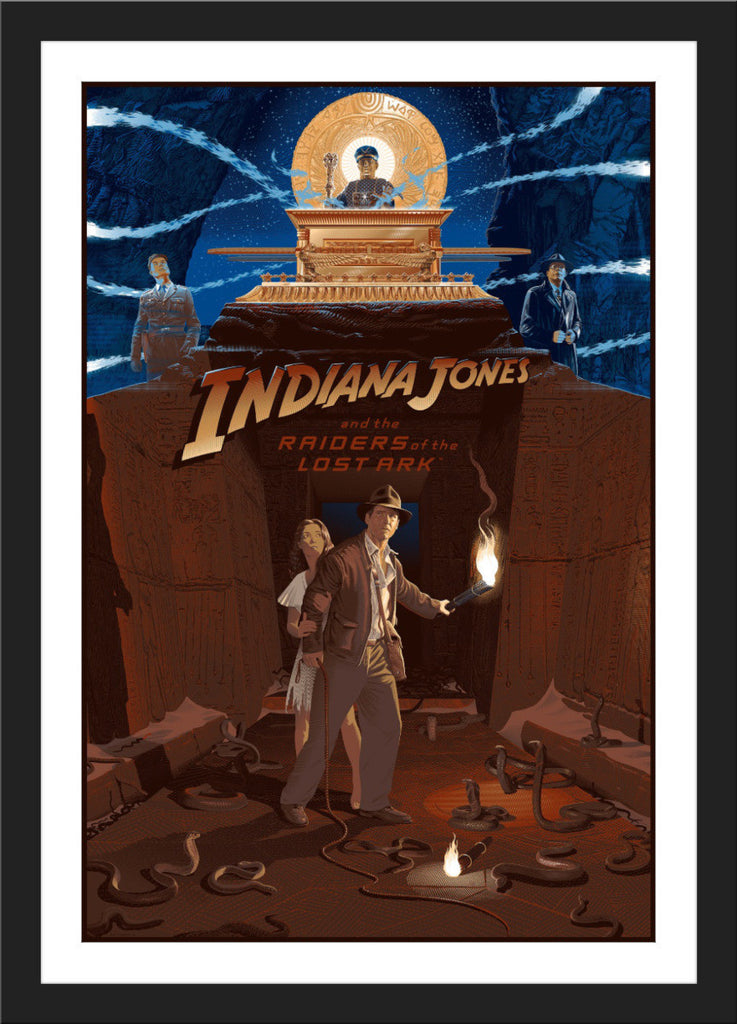 "Laurent Durieux ""Indiana Jones and The Raiders of The Lost Ark"" Timed Edition"