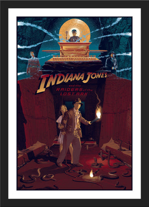 "Laurent Durieux ""Indiana Jones and The Raiders of The Lost Ark"" Variant"