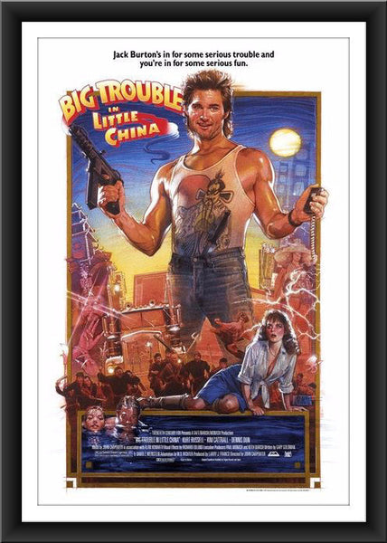 "Drew Struzan ""Big Trouble in Little China"""