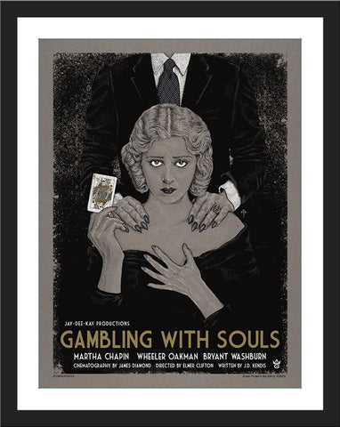"Timothy Pittides ""Gambling With Souls"" Gallery Variant"