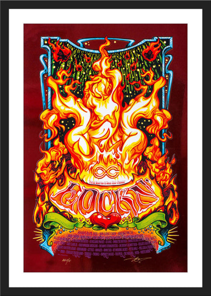 "AJ Masthay ""Lockn' Music Festival - Sirens Song"" Red Foil"