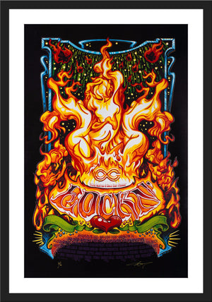 "AJ Masthay ""Lockn' Music Festival - Sirens Song"" Black Foil"