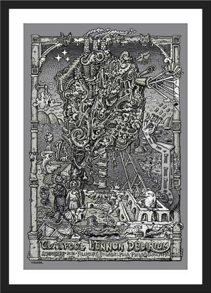"David Welker ""Claypool - Philadelphia"" Variant"