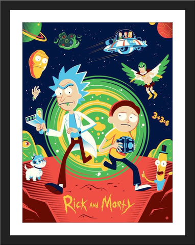 "Dave Perillo ""Rick and Morty"""