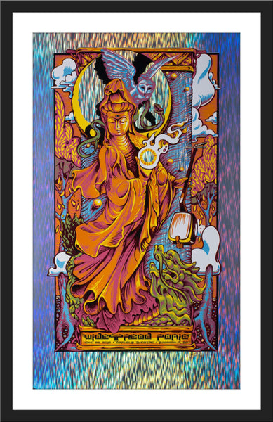 "AJ Masthay ""Widespread Panic - Minneapolis"" Rain Foil (Slightly Imperfect)"