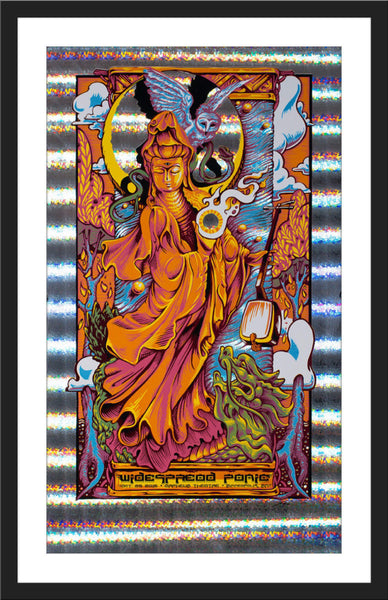 "AJ Masthay ""Widespread Panic - Minneapolis"" Stained Glass Foil"