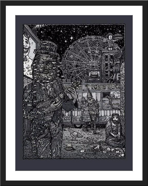 "David Welker ""Coney Island Freak Show"" Metallic Variant"