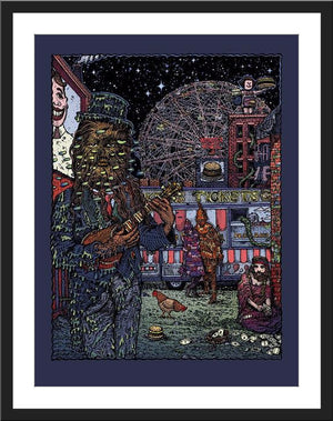 "David Welker ""Coney Island Freak Show"""