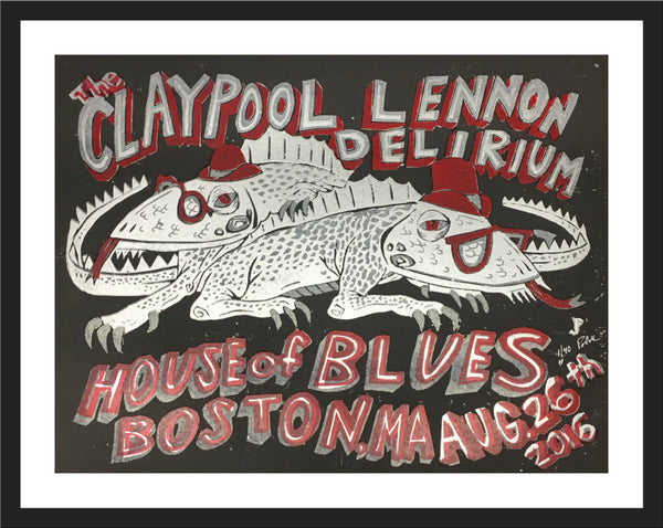 "Jim Pollock ""Claypool Lennon Delirium - House of Blues"""