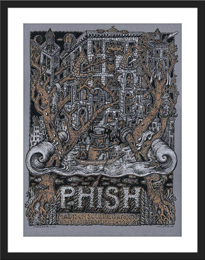"David Welker ""PHISH - New Year's Run @ MSG"" Lottery Entry"