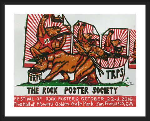 "Jim Pollock ""TRPS: The Rock Poster Society - October 22nd, 2016"""
