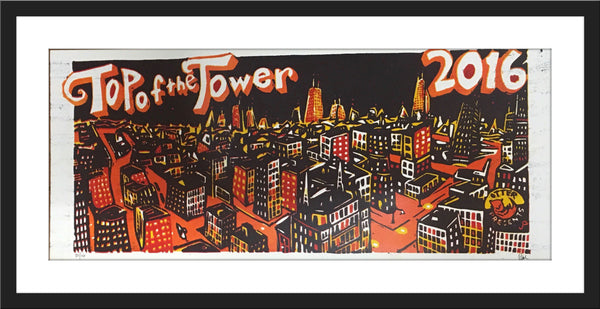 """Top of the Tower"" Print"