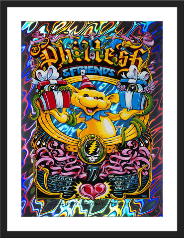 "AJ Masthay ""Phil Lesh 77th Birthday Run"" Lava Foil"