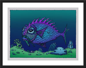 "David Welker ""Lonious Fish"""