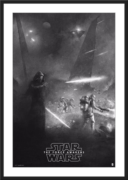 "Karl Fitzgerald ""Star Wars: The Force Awakens"" Variant"