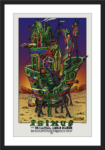 "David Welker ""Primus - Red Rocks May 16th 2017"""