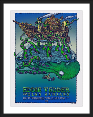 "David Welker ""Eddie Vedder - Cork, Ireland"""