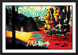 "Raid71 ""Secret Garden: Japanese Title Variant"" Charity Print"