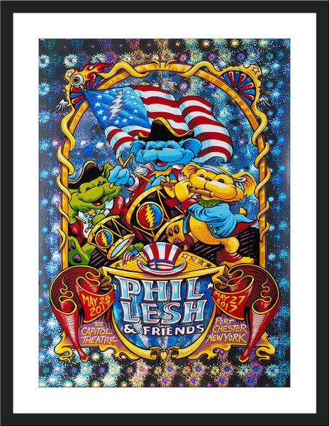 "AJ Masthay ""Phil Lesh Memorial Day"" Blast Foil"