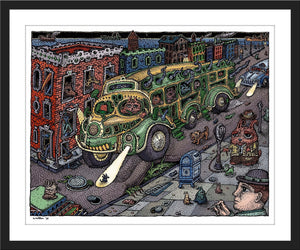 "David Welker ""Sunset Bus"""