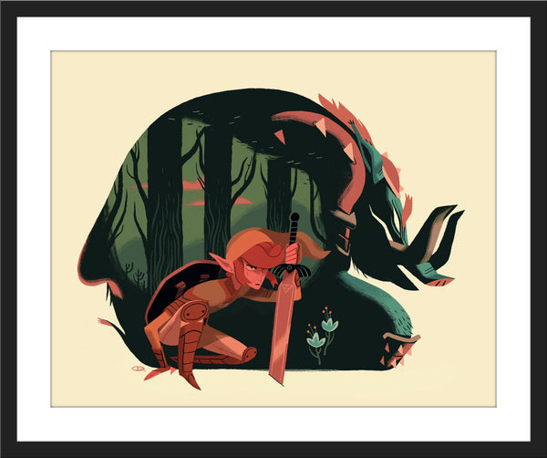 "Glen Brogan ""Link"" Charity Print"