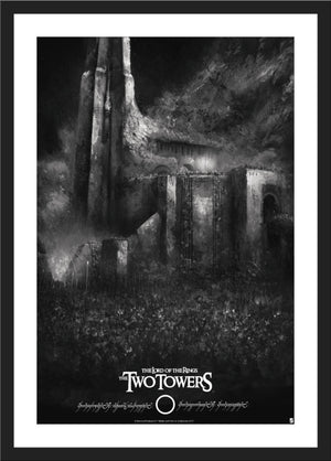 "Karl Fitzgerald ""The Lord of the Rings: The Two Towers"" Variant"