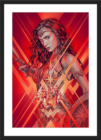 "Martin Ansin ""Wonder Woman"" Timed Edition"