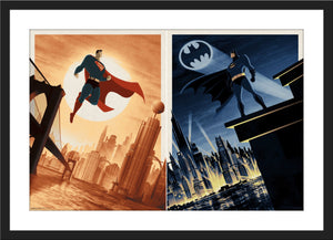 "Matt Ferguson ""Batman & Superman"" Timed Edition SET"