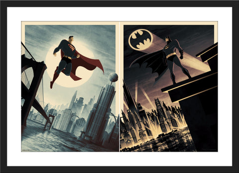 "Matt Ferguson ""Batman & Superman"" Variant SET"