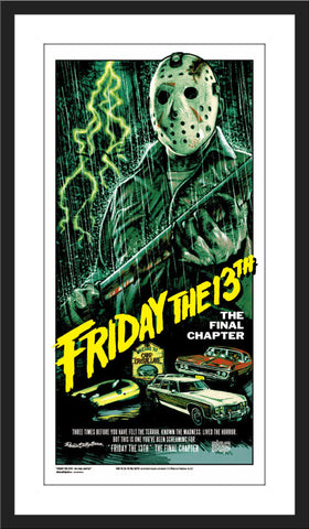"Rockin' Jelly Bean ""Friday the 13th: The Final Chapter"""