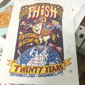 Phish 2003 Boston 20th Anniversary AP