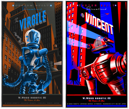 "Laurent Durieux ""Virgile"" and ""Vincent"" Set"