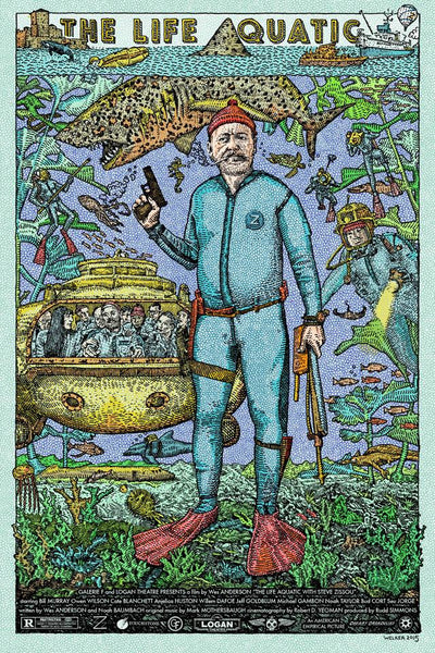"David Welker ""The Life Aquatic"" Regular"