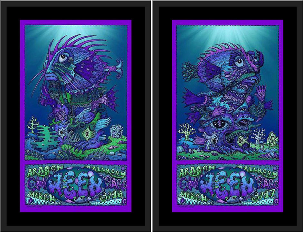 "David Welker ""WEEN - Aragon Ballroom"" SET"