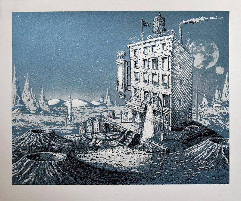 "David Welker ""Return to the Mars Hotel"""
