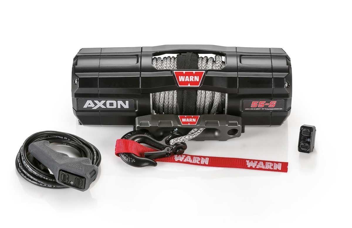 Warn AXON 55-S Powersport Winch-Winch-Warn-Black Market UTV