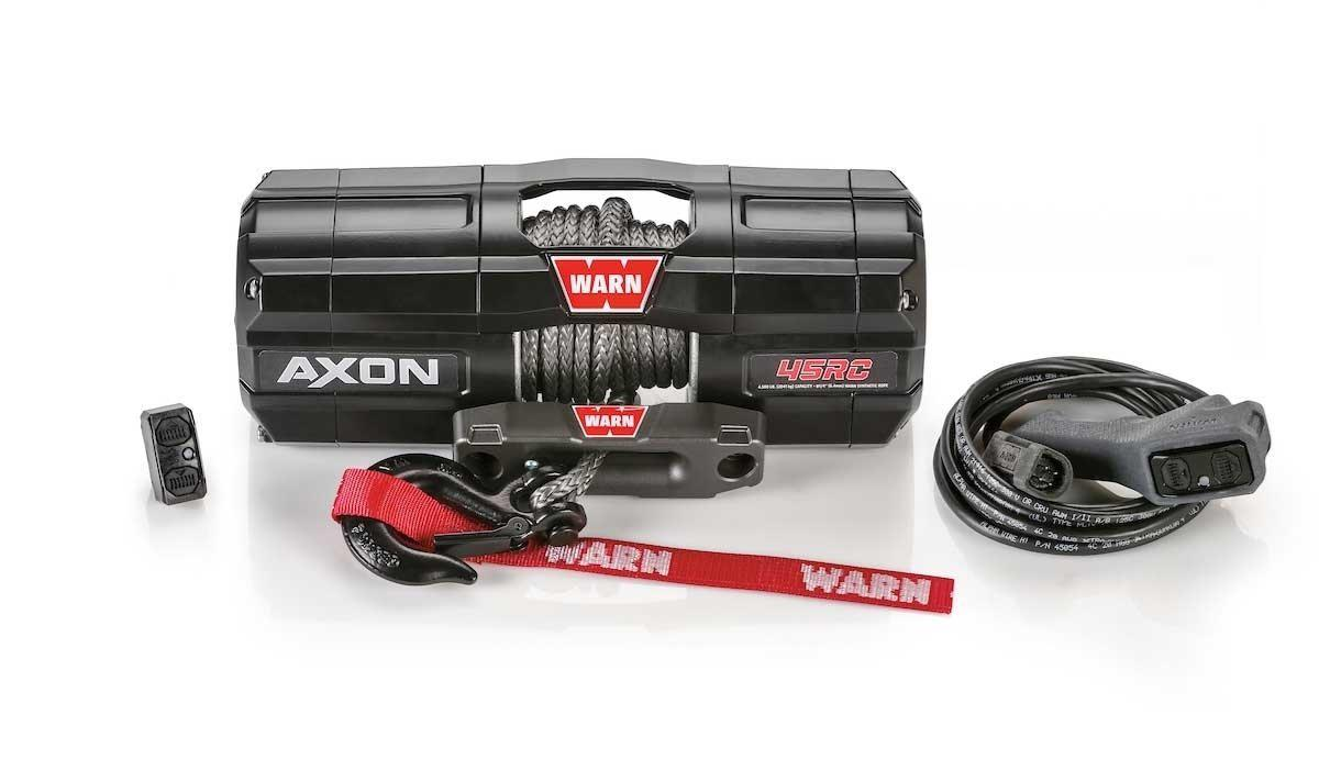 Warn AXON 45RC Powersport Winch-Winch-Warn-Black Market UTV