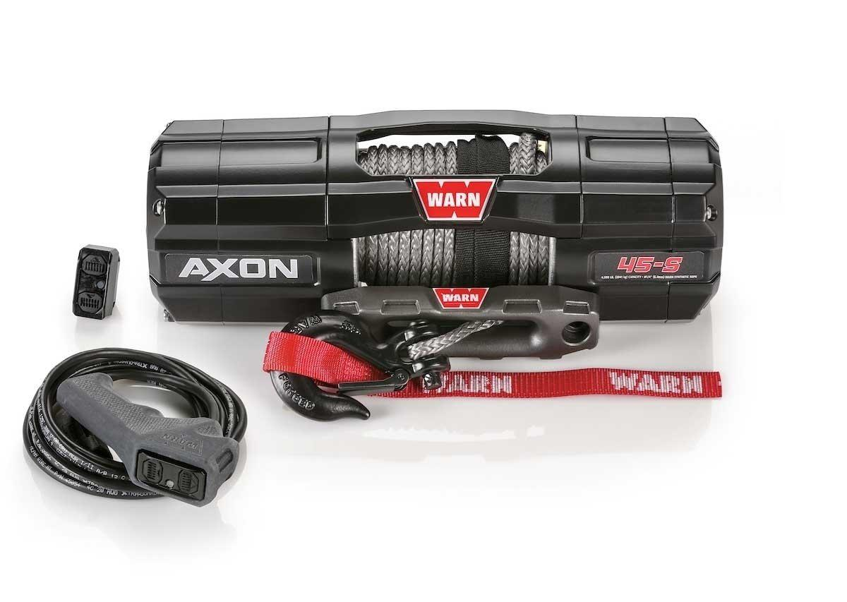 Warn AXON 45-S Powersport Winch-Winch-Warn-Black Market UTV