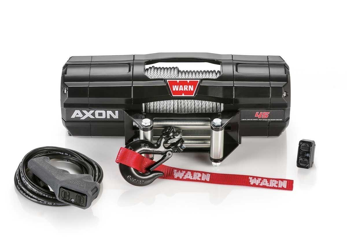 Warn AXON 45 Powersport Winch-Winch-Warn-Black Market UTV