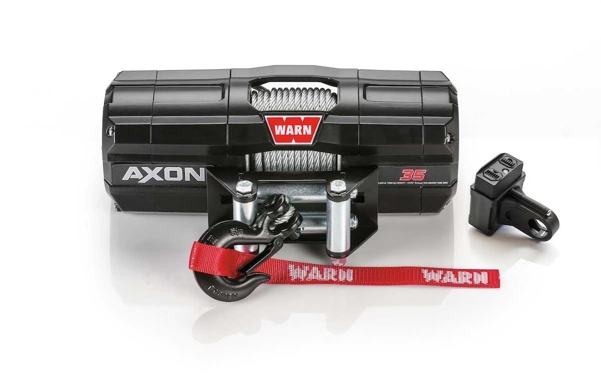 Warn AXON 35 Powersport Winch-Winch-Warn-Black Market UTV