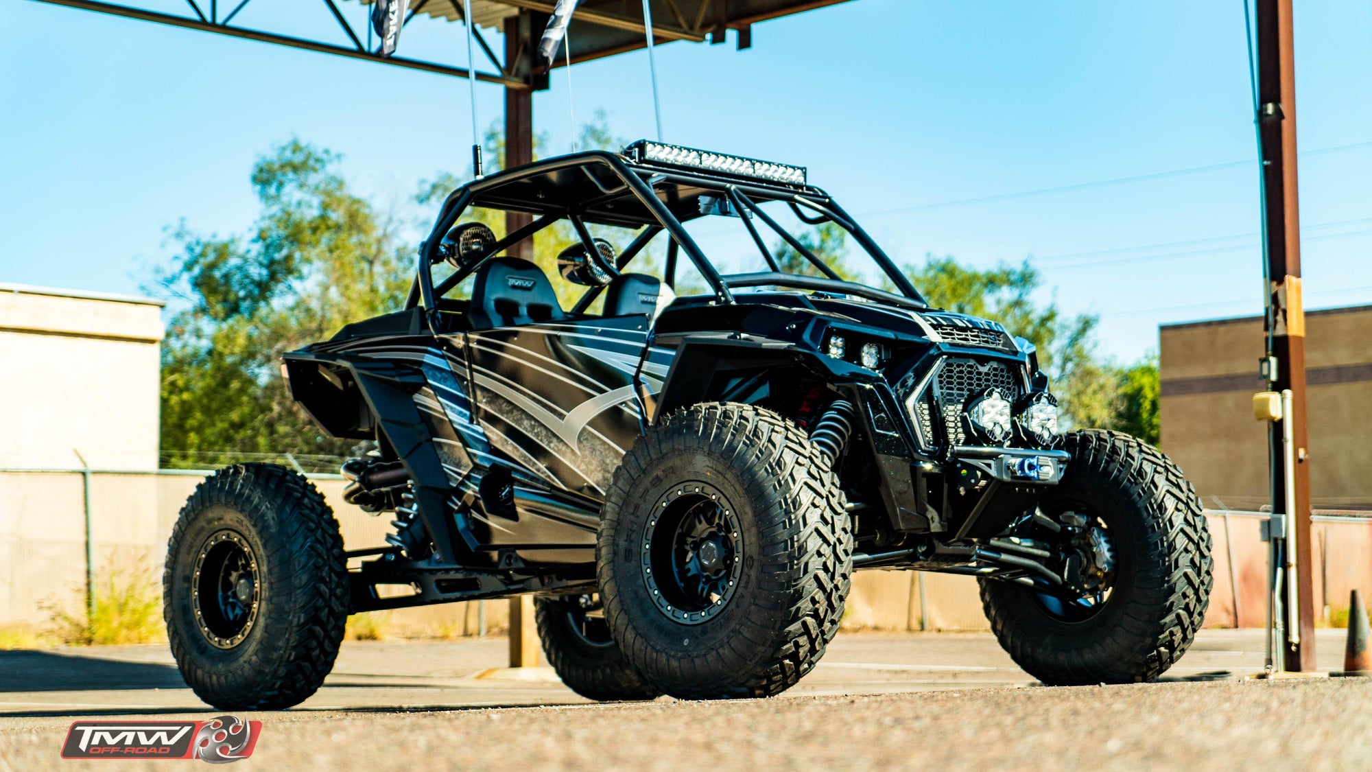 TMW Sidewinder 2 Seat Doors-Doors-TMW Off-Road-No Door Bags-Black Market UTV