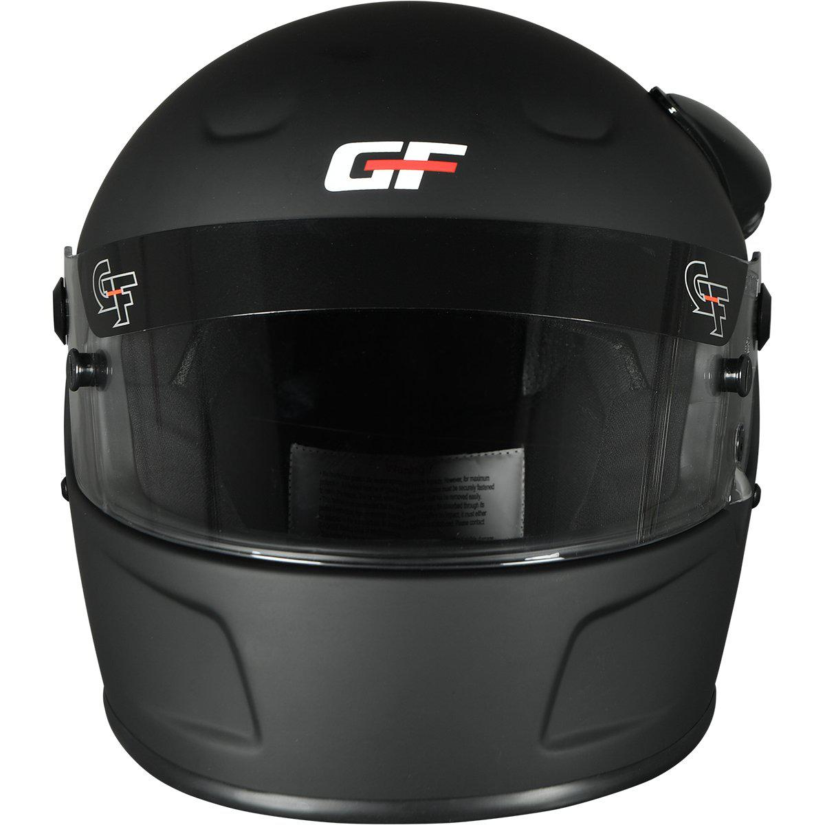 AIR CHARGE FULL FACE DOT-Helmet-G-Force-Large-Black Market UTV
