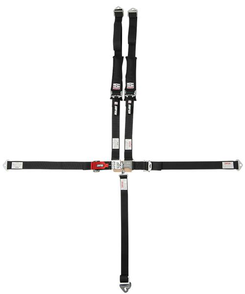 "D3 Harness - 2""x2"" - Standard Hardware-Seats & Harness-Simpson-Black-No Pads-Bolt-In-Black Market UTV"