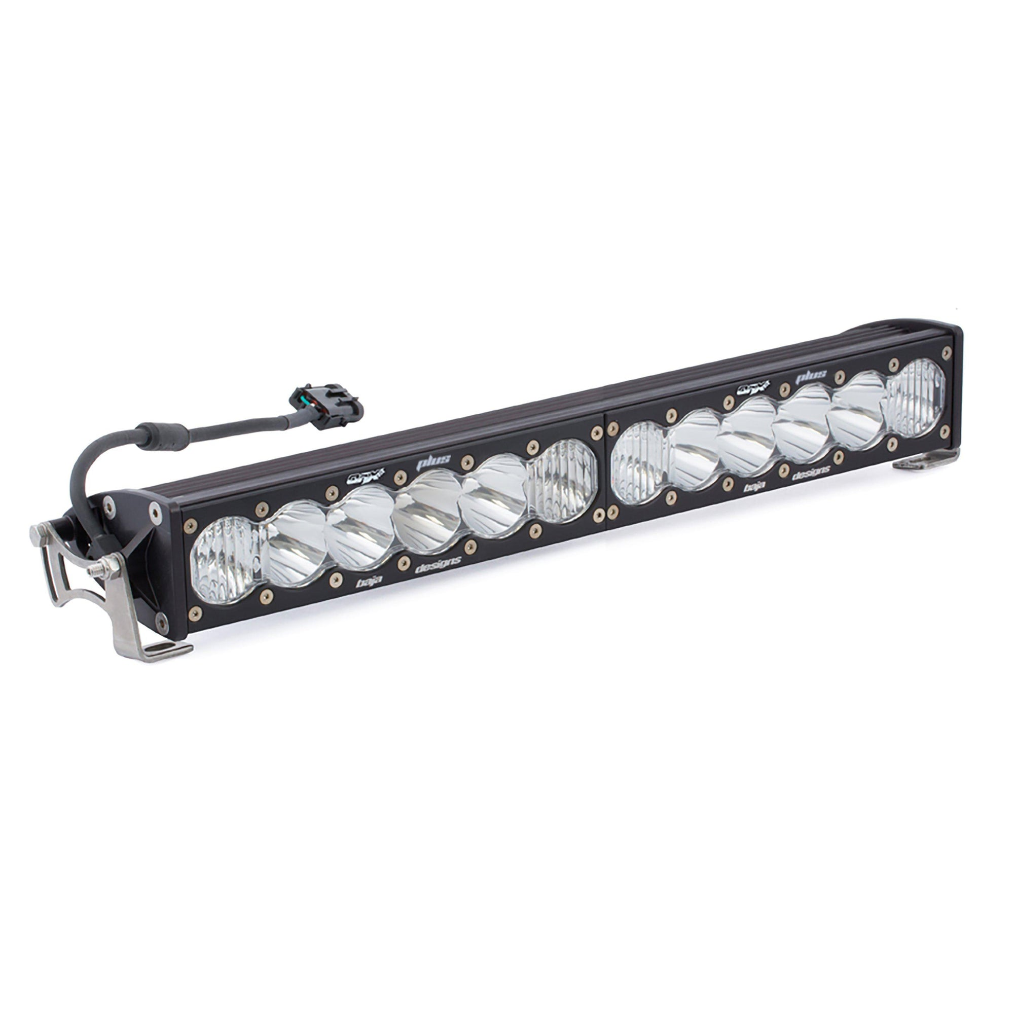 "20"" OnX6+ LED Light Bars-Light Bars-Baja Designs-Driving/Combo-White-Black Market UTV"