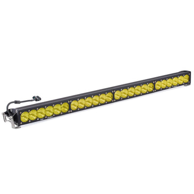 "40"" OnX6+ LED Light Bars-Light Bars-Baja Designs-Wide Driving-Amber-Straight-Black Market UTV"