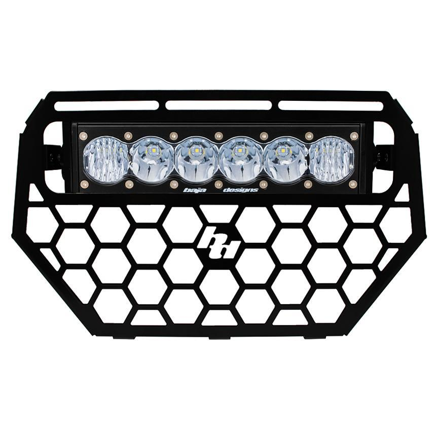 Polaris RZR Grille and OnX6 LED Light Bar Kit 14-16 Baja Designs-Light Bars-Baja Designs-2014-Black Market UTV