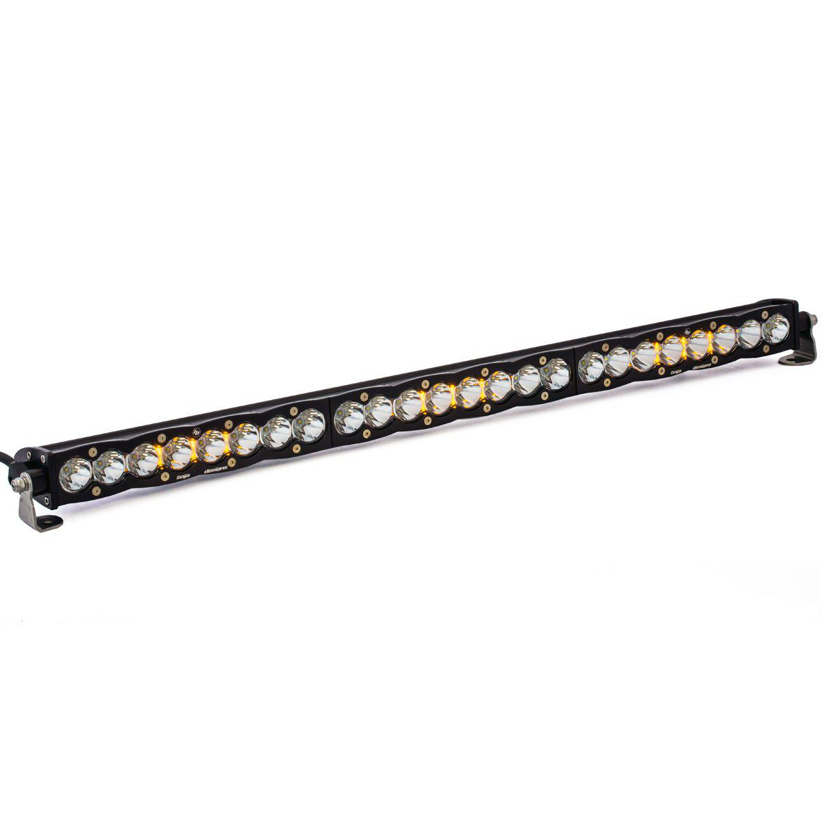"S8 LED 30"" Light Bars-Light Bars-Baja Designs-30""-Spot-White-Black Market UTV"