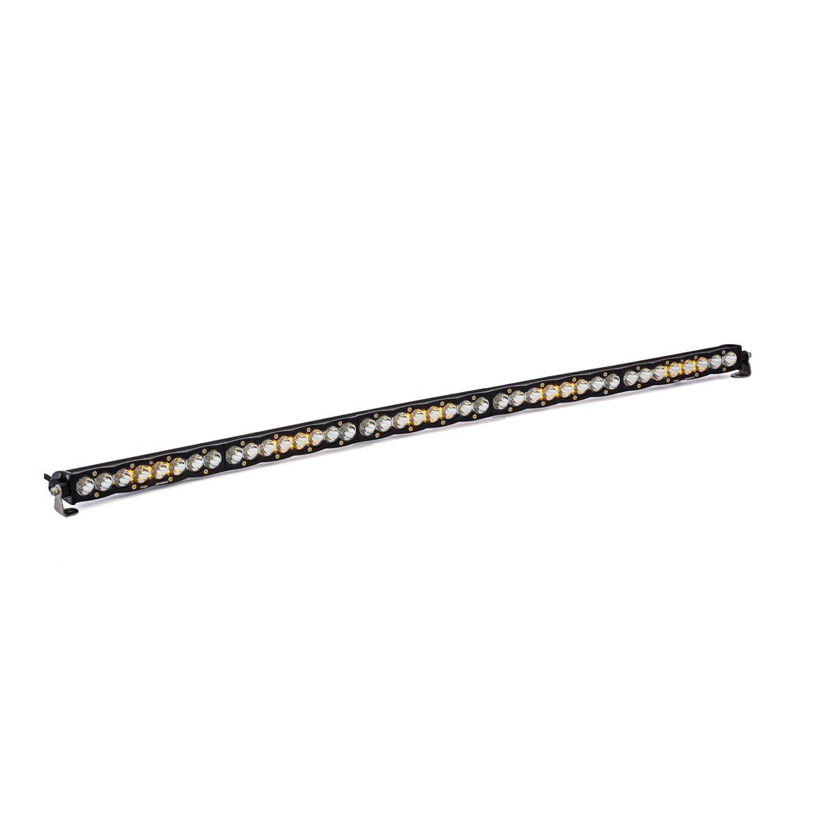 "S8 LED 50"" Light Bars-Light Bars-Baja Designs-50""-Spot-White-Black Market UTV"