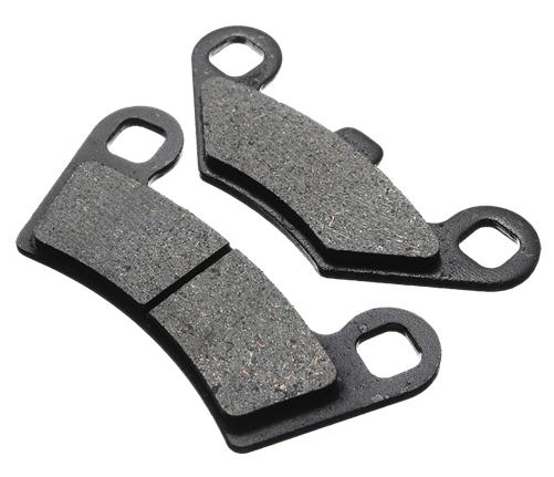 Maverick X3 Extreme Duty Performance Brake Pads-Brakes-GBoost-2017-Can-am Maverick X3 All Models-Front Right Hand-Black Market UTV