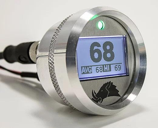 3.0 Edition Belt Temp Gauge-Gauge-Razorback-Silver-5 Foot (RS1)-Fahrenheit-Black Market UTV